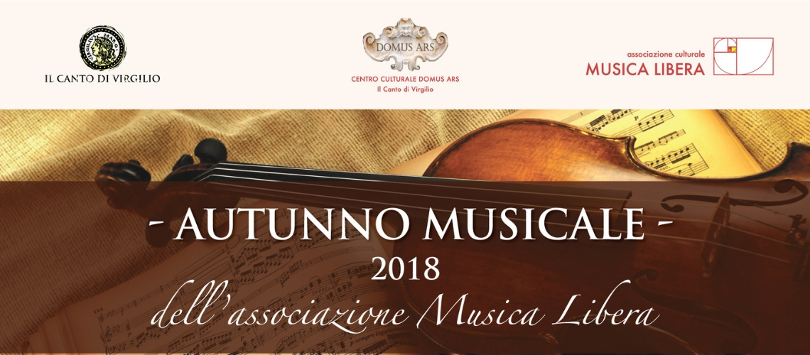 L'Autunno Musicale 2018 dell'Associazione Musica Libera