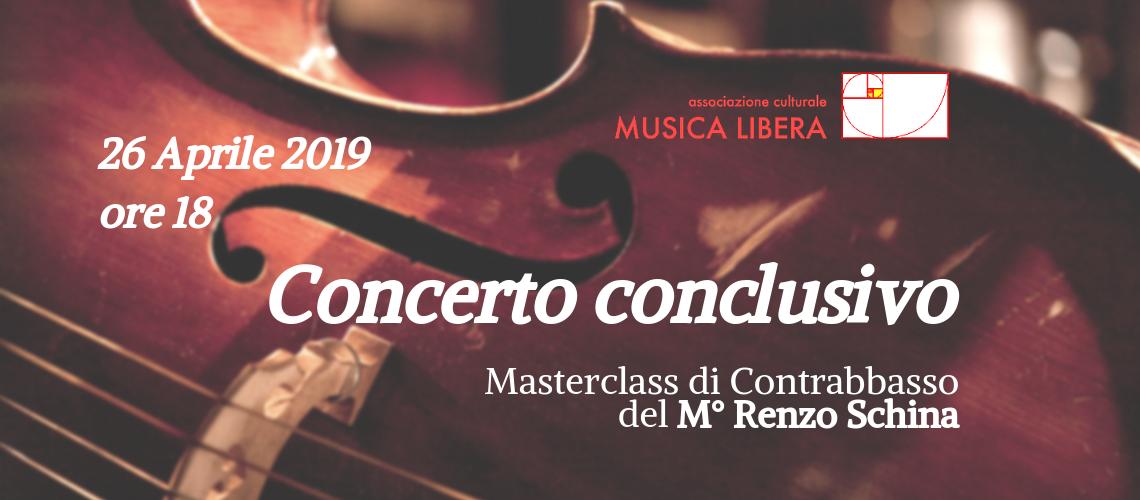 Concerto conclusivo - masterclass di contrabbasso