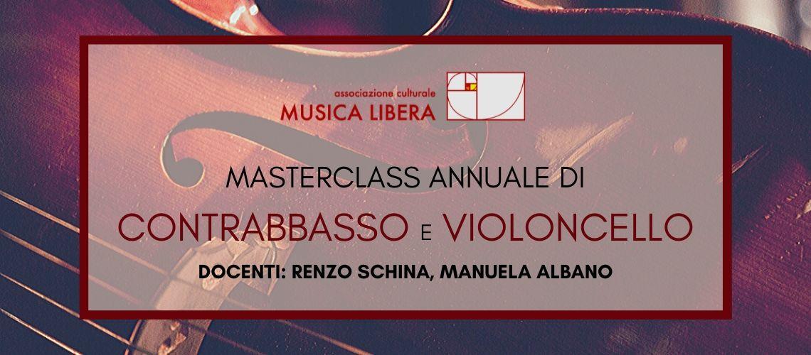 Masterclass di contrabbasso e violoncello