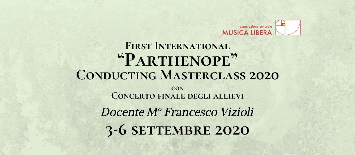 """Masterclass """"Parthenope"""" in direzione d'orchestra"""
